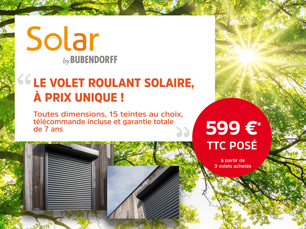 volet roulant solaire bubendorff prix volets roulants autonomes versailles with volet roulant. Black Bedroom Furniture Sets. Home Design Ideas