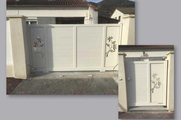 Installation de clôtures, portail et portillon, l'aluminium c'est fantastique !